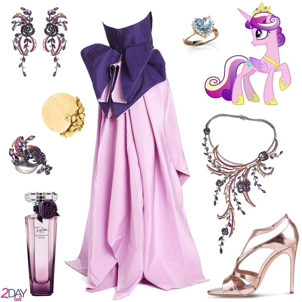 2Daybit - Princess Cadance - My Little Pony inspired outfit